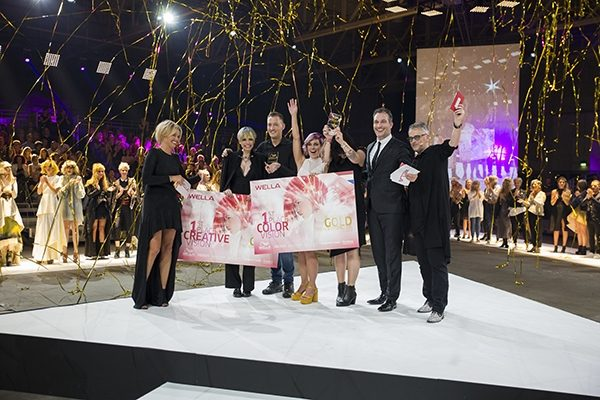 Uitreiking nationale Wella TrendVision Awards