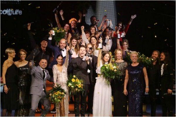 De winnaars van de Coiffure Award 2016