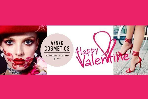 De perfecte Valentijns look met A/N/G Cosmetics!