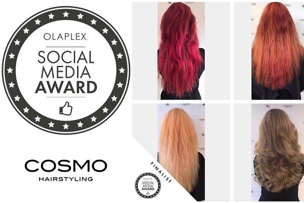 Cosmo Hairstyling IJmuiden wint Olaplex Social Media Award
