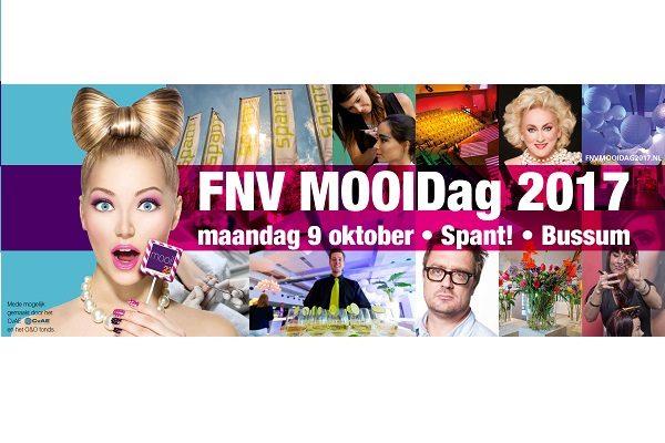 Programma FNV MOOIDag 2017 bekend en inschrijving gestart!