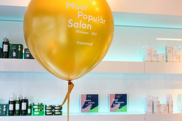 Treatwell reikt Most Popular Awards uit aan salons in 6 categorieën