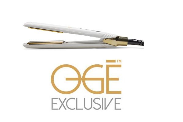 Ogé Exclusive introduceert: Hair Straightener One touch Stripes