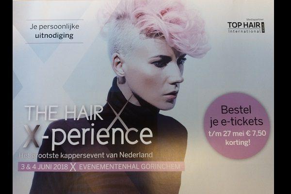 Bestel je kaartjes voor The Hair X-perience 2018 nu met korting!