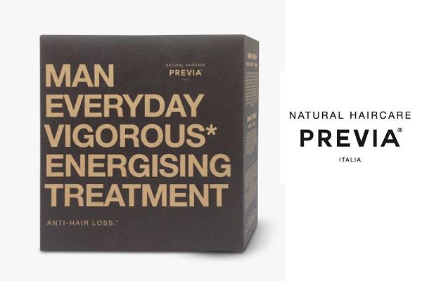 Previa Man: Energising Anti-Hairloss Treatment