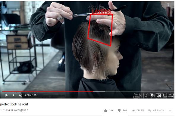 Favoriete video Maksim Nikotischkin – Perfect Bob Haircut
