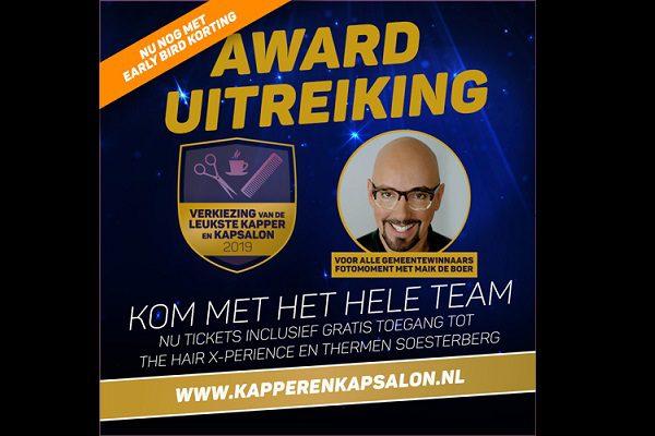 Recordeditie Verkiezing van de Leukste Kapper en Kapsalon