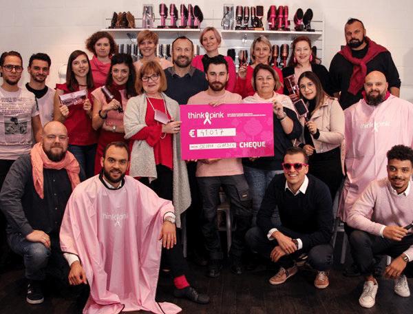 Gevecht tegen borstkanker: Olivia Garden doneert 41.017 Euro aan Think Pink Europe