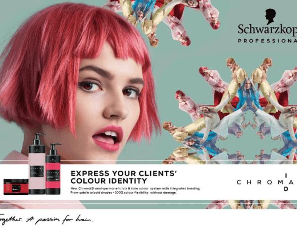 Schwarzkopf Professional kondigt de lancering van Chroma ID aan, het eerste 100% personaliseerbare semi-permanente mix & tone kleurensysteem.