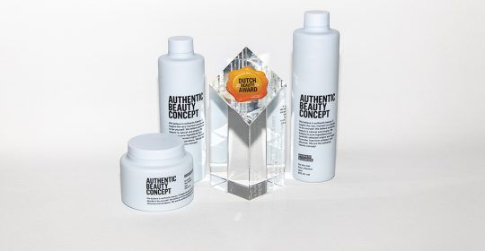 Authentic Beauty Concept wint Dutch Beauty Award 2020