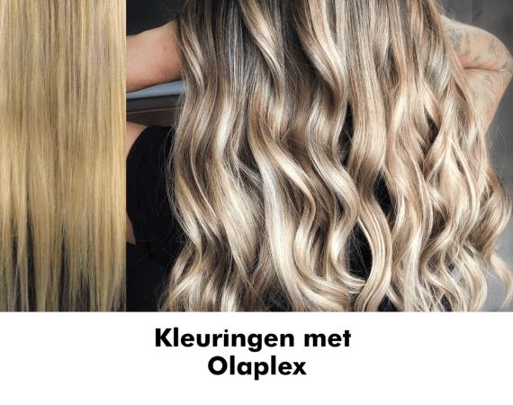 Kleuringen met Olaplex