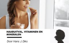 Haaruitval, vitaminen en mineralen