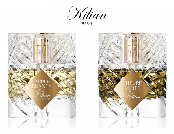 KILIAN PARIS expands Liquor collection with two new fragrances Apple Brandy on the Rocks  and L'Heure Verte