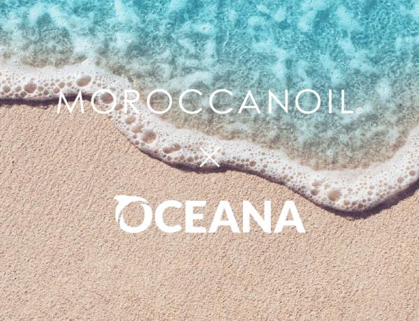 Moroccanoil kondigt samenwerking aan met Oceana