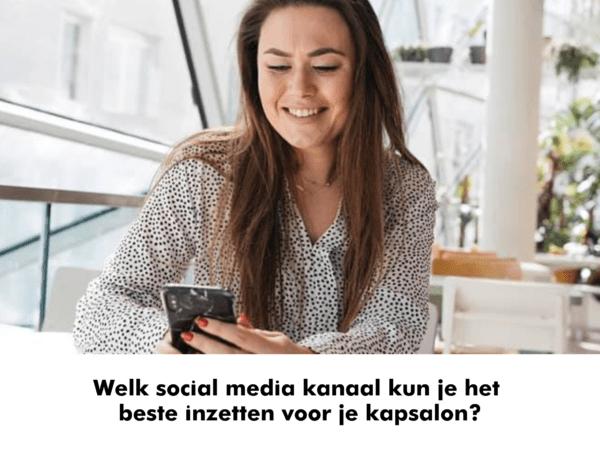 social media kapsalon